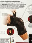 Stabilizator kolana Mueller Pro Styl Hinged Deluxe w sklepie internetowym Basketo.pl