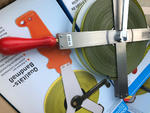 Taśma ruletka stalowa RICHTER 404V 100m / 404K 100m powlekana poliamidem / teflon w sklepie internetowym Geosklep