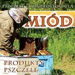 Baner reklamowy Miód produkty pszczele BR18 1x1 w sklepie internetowym Pszczelnictwo.com.pl
