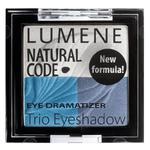 Lumene Natural Code Eye Dramatizer Trio Eyeshadow, potrójne cienie do oczu 3 Denim 4,3g - 3 Denim w sklepie internetowym PerfumyExpress.pl