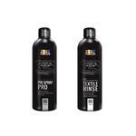 Zestaw do czyszczenia tapicerki ADBL Pre Spray PRO + ADBL Textile Rinse 2 x 500 ml w sklepie internetowym Mrcleaner.pl