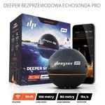 Deeper Smart Sonar PRO - echosonda do łowienia ryb z technologią Wi-fi w sklepie internetowym mobilemania.pl