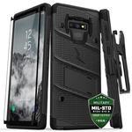 Zizo Bolt Cover - Pancerne etui Samsung Galaxy Note 9 + szkło (czarne) Etui pancerne ZIZO BOLT COVER do Galaxy Note 9 (czarne) w sklepie internetowym mobilemania.pl