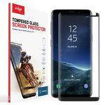 Zizo Full Edge to Edge Szkło ochronne Samsung Galaxy S9 (czarna ramka) w sklepie internetowym mobilemania.pl