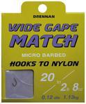 Haczyki nr16 Drennan wide gape + Przypon 0,13mm 8szt w sklepie internetowym Bolw.pl