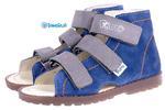 kapcie profilaktyczne Mrugała Porto - 1110, kolor 68 jeans/popiel w sklepie internetowym tomcio.pl