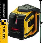 STABILA LAX 300 Laser punktowo-liniowy + LT30 podpora teleskopowa w sklepie internetowym Infopomiar.pl
