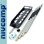 Segmentowa tyczka aluminiowa do poziomnicy nivcomp H-25-PRO w sklepie internetowym Infopomiar.pl