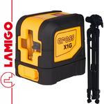 LAMIGO CROSS X1G laser liniowy zielona wiązka lasera + Statyw 1,4m w sklepie internetowym Infopomiar.pl
