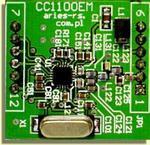 CC1100EM miniaturowy moduł transceiwera (nadajnika-odbiornika) sygnałów cyfrowych w sklepie internetowym Handeltechnik.pl