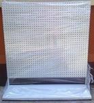 DOSTAWA GRATIS! 77157008 Regał perforowany pod zawieszki (wymiary: 2000x1000x500 mm) w sklepie internetowym Szalonymax.pl
