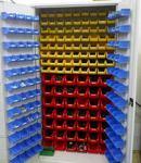 DOSTAWA GRATIS! 77157261 Szafa narzędziowa z pojemnikami, 210 pojemników (wymiary: 2000x1000x500 mm) w sklepie internetowym Szalonymax.pl