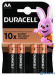 Duracell Basic AA/LR6 1,5V baterie alkaliczne 4szt (blister) w sklepie internetowym Bratex.org