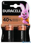 2 x bateria alkaliczna Duracell LR14 C (blister) w sklepie internetowym Bratex.org
