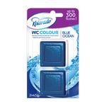 WCC12 - Kolorado kostka do spłuczki WC COLOUR A'2 szt. OCEAN BLUE/NIEBIESKI w sklepie internetowym Higiena.NET