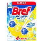 Bref Power Aktiv - Kostka do wc z zawieszką - Soczysta cytryna w sklepie internetowym Higiena.NET