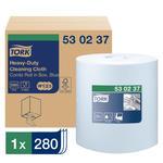 Tork - Czyściwo włókninowe w małej roli do trudnych zabrudzeń, niebieskie - 106 m w sklepie internetowym Higiena.NET