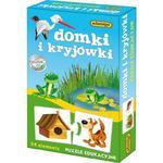 ADAMIGO PUZZLE EDUKACYJNE DOMKI I KRYJÓWKI 3+ w sklepie internetowym Malako.pl