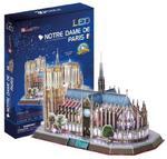 CUBICFUN PUZZLE 3D LED 149 EL. NOTRE DAME 3+ w sklepie internetowym Malako.pl