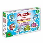 ALEXANDER PUZZLE DLA MALUSZKÓW PODWODNE ZWIERZĄTKA 2-7 EL. 3+ w sklepie internetowym Malako.pl
