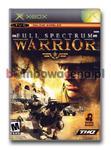 Full Spectrum Warrior [Xbox] NTSC USA w sklepie internetowym Bombowacena.pl