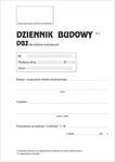 Dziennik budowy DB2 dla obiektów budowlanych A4 P12 w sklepie internetowym Agena24