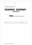 Dziennik budowy DB2a (dodatkowy) dla obiektów budowlanych A4 P13 w sklepie internetowym Agena24