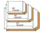 Koperty białe C4 klejone na mokro /500/ WZ w sklepie internetowym Agena24