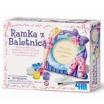 Kreatywna Zabawa Ramka Z Baletnicą - 4M w sklepie internetowym Edukraina.pl