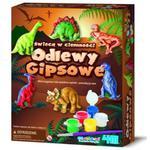 Odlewy Gipsowe Dinozaury (Świecą W Ciemności) - 4M w sklepie internetowym Edukraina.pl