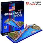 Puzzle 3D Golden Gate Bridge - Cubic Fun w sklepie internetowym Edukraina.pl