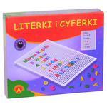 Literki i cyferki w pudełku - Alexander w sklepie internetowym Edukraina.pl
