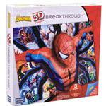 Puzzle 3D Spiderman Poziom 3 - Mega Blocks w sklepie internetowym Edukraina.pl