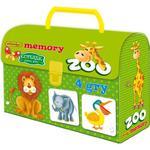 Gra Kuferek Zoo Memory - Adamigo w sklepie internetowym Edukraina.pl