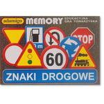 Znaki Drogowe Gra Memory - Adamigo w sklepie internetowym Edukraina.pl