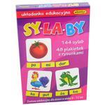 Sylaby Układanka Edukacyjna - Adamigo w sklepie internetowym Edukraina.pl
