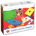 Gra Memory Wzory, Kolory - Alexander w sklepie internetowym Edukraina.pl