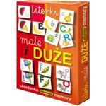 Gra Memory Literki Małe i Duże - Adamigo w sklepie internetowym Edukraina.pl