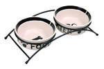 TRIXIE miski ceramiczne na stojaku 0,6l 15cm TX24641 w sklepie internetowym Supermarket-zoologiczny.pl