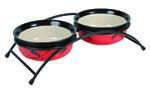 TRIXIE miski ceramiczne na stojaku 0,25l 12,5cm TX24790 w sklepie internetowym Supermarket-zoologiczny.pl