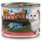 PRINCESS - Nature's power - łosoś 200g- mokra karma dla kota w sklepie internetowym Supermarket-zoologiczny.pl