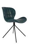 Zuiver :: Krzesło OMG LL Petrol - wzór 7 w sklepie internetowym 9design.pl