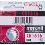 CR 1616 3V MAXELL Bx5 Bateria Alkaiczna CR1616 [Maxell] w sklepie internetowym Interlumen.com