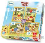 Kubuś Puchatek - Trefl puzzle 4w1 w sklepie internetowym DlaDzieciaczka.pl