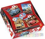 Cars 2-puzzle 4w1 w sklepie internetowym DlaDzieciaczka.pl