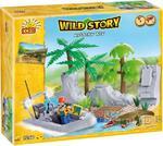 Wild Story Tajemnicza Wyspa, 150 kl. - klocki Cobi 22150 w sklepie internetowym DlaDzieciaczka.pl