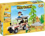 Wild Story Safari 250 kl. - klocki Cobi 22250 w sklepie internetowym DlaDzieciaczka.pl