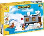 Wild Story - Baza zimowa 300 kl. - klocki Cobi 22300 w sklepie internetowym DlaDzieciaczka.pl