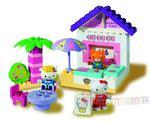 BIG klocki - Hello Kitty Bar z Ogródkiem w sklepie internetowym DlaDzieciaczka.pl