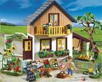 Dom wiejski ze sklepem PLAYMOBIL GOSPODARSTWO ROLNE 5120 w sklepie internetowym DlaDzieciaczka.pl